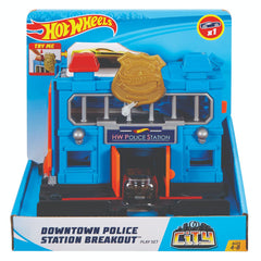 Hot Wheels City Downtown Police Station Breakout - Toyworld