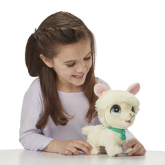Furreal Walkalots Big Wag Trend Pet Llama Img 3 - Toyworld