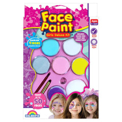 FACE PAINT GIRLS DELUXE KIT