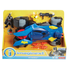 FISHER PRICE IMAGINEXT DC SUPER FRINEDS DELUXE BATMOBILE