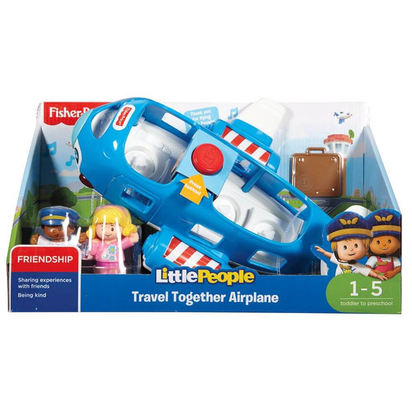 Fisher Price Little People Large Vehicle Travel Together Airplane - Toyworld