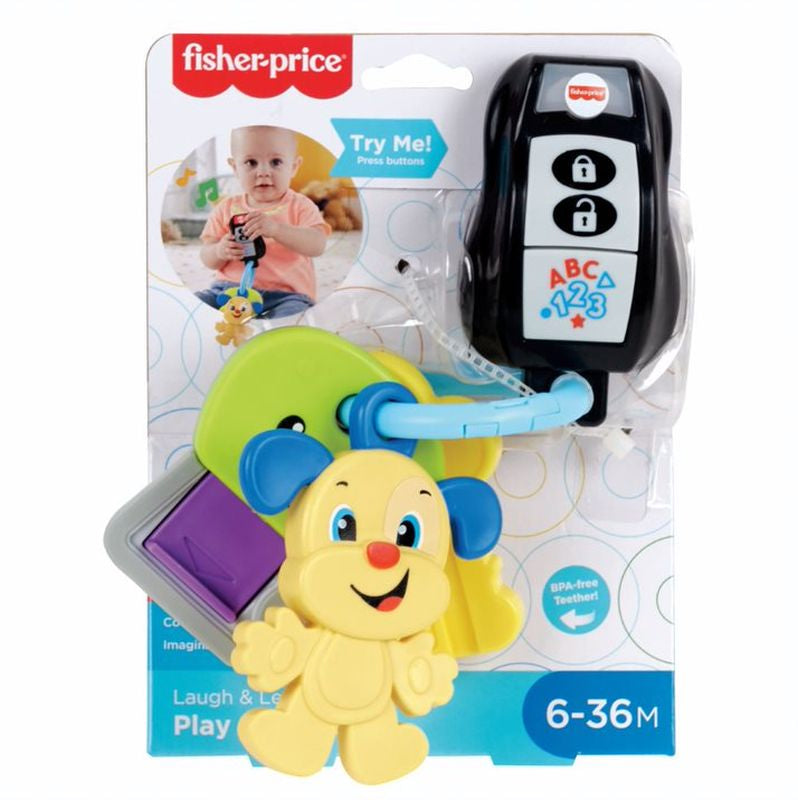 FISHER-PRICE LAUGH AND LEARN PLAY AND GO KEYS