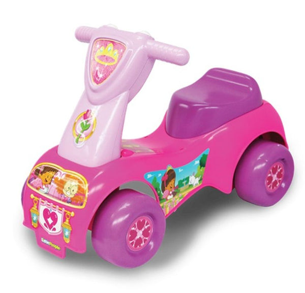 FISHER-PRICE LITTLE PEOPLE PRINCESS PUSH N SCOOT RIDE-ON