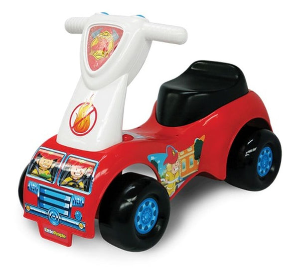 FISHER-PRICE LITTLE PEOPLE RESCUE PUSH N SCOOT RIDE-ON