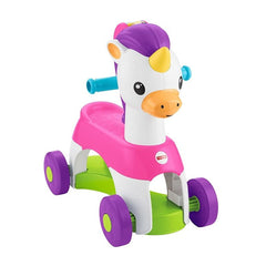 Fisher Price Rollin Tunes Unicorn Img 1 - Toyworld
