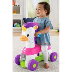 Fisher Price Rollin Tunes Unicorn Img 2 - Toyworld
