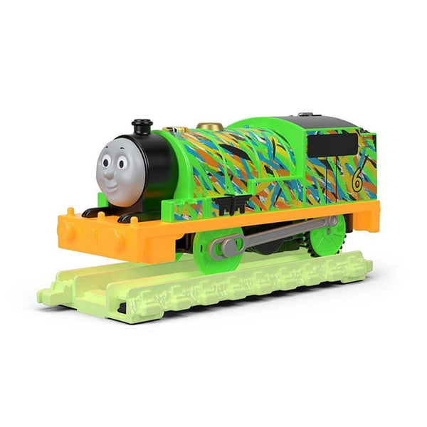 THOMAS AND FRIENDS TRACK MASTER HYPER GLOW PERCY
