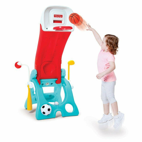 FISHER PRICE 6 IN 1 QWIKFLIP ACTIVITY CENTRE