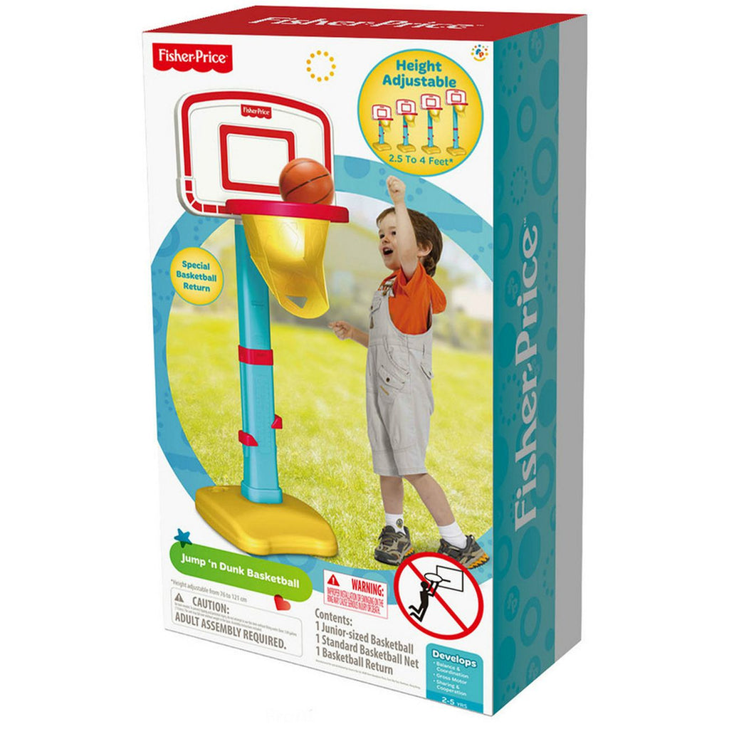 FISHER PRICE JUMP N DUNK BASKETBALL