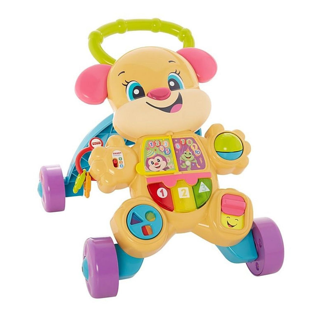 Fisher Price Laugh Learn Learn With Puppy Walker Girl - Toyworld