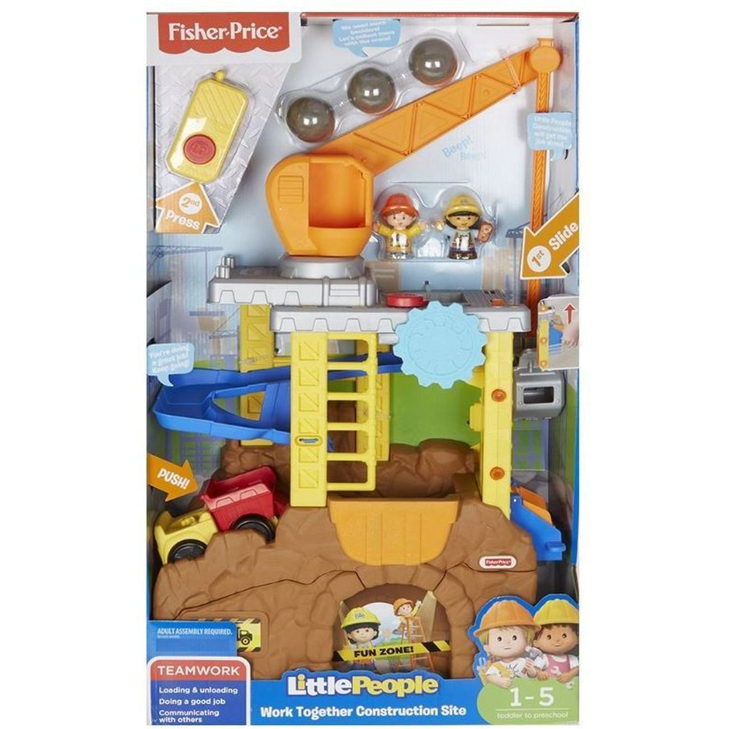 FISHER PRICE LITTLE PEOPLE CONSTRUCTION SITE
