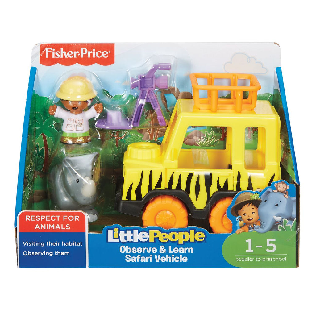Fisher Price Little People Observe & Learn Safari Vehicle - Toyworld