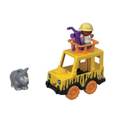 Fisher Price Little People Observe & Learn Safari Vehicle Img 1 - Toyworld