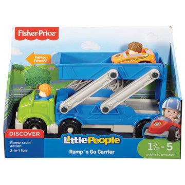 Fisher Price Little People Wheelies Ramp N Go Carrier - Toyworld