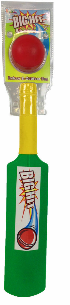 Fountain Big Hit Bat And Ball - Toyworld