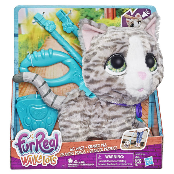 Furreal Friends Walkalots Big Wags Kitty - Toyworld