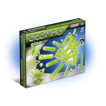Geomag Glow 40 Pieces - Toyworld