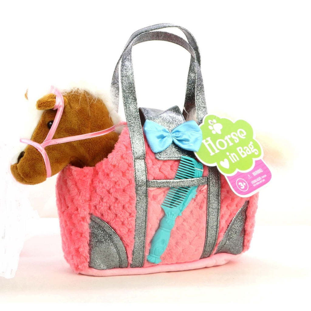 Gigo Ponies In Carry Bag Assorted Styles - Toyworld
