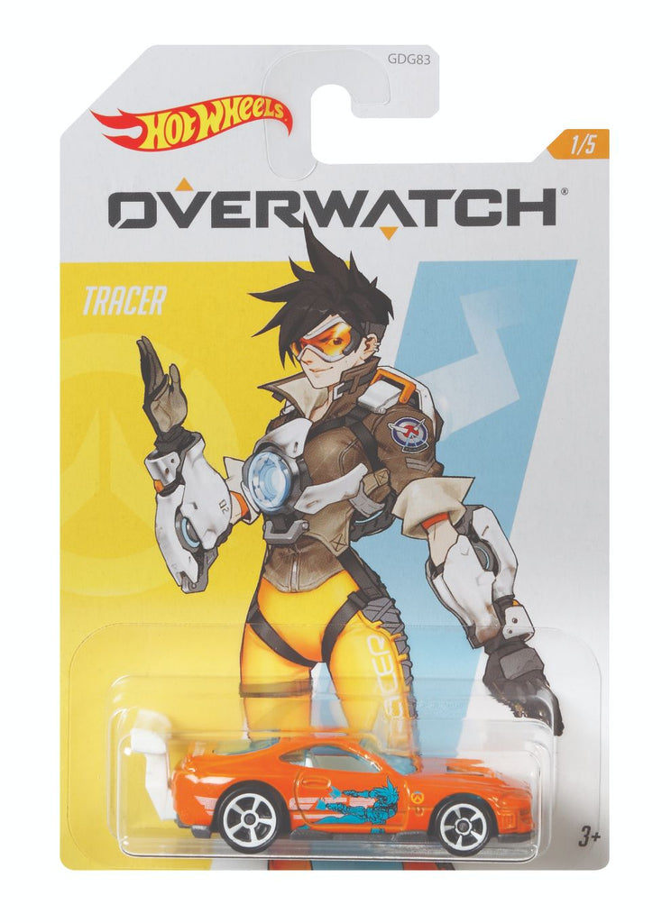 HOT WHEELS ENTERTAINMENT OVERWATCH TRACER 1/5