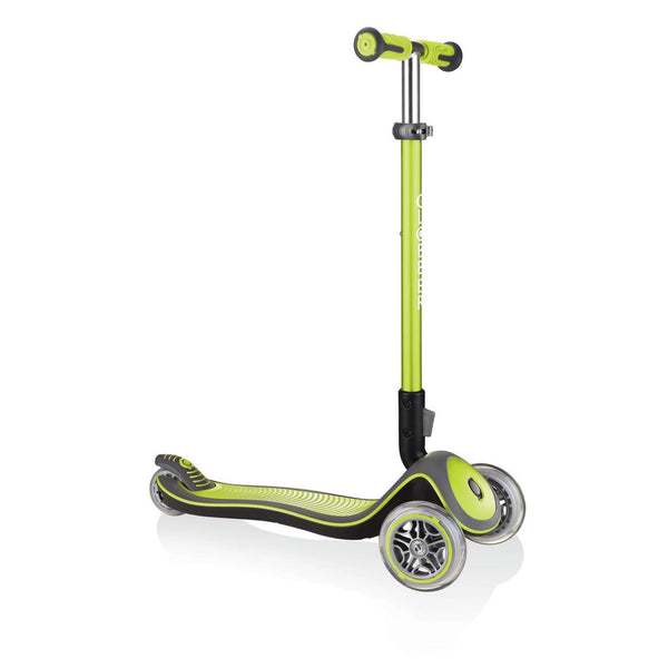 GLOBBER ELITE DELUXE SCOOTER LIME GREEN