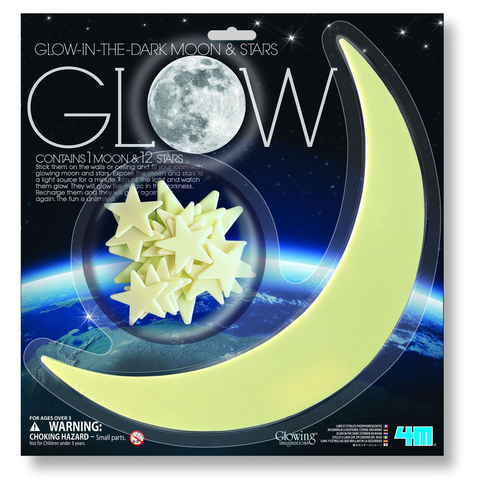 4M Glow Moon & Stars - Toyworld