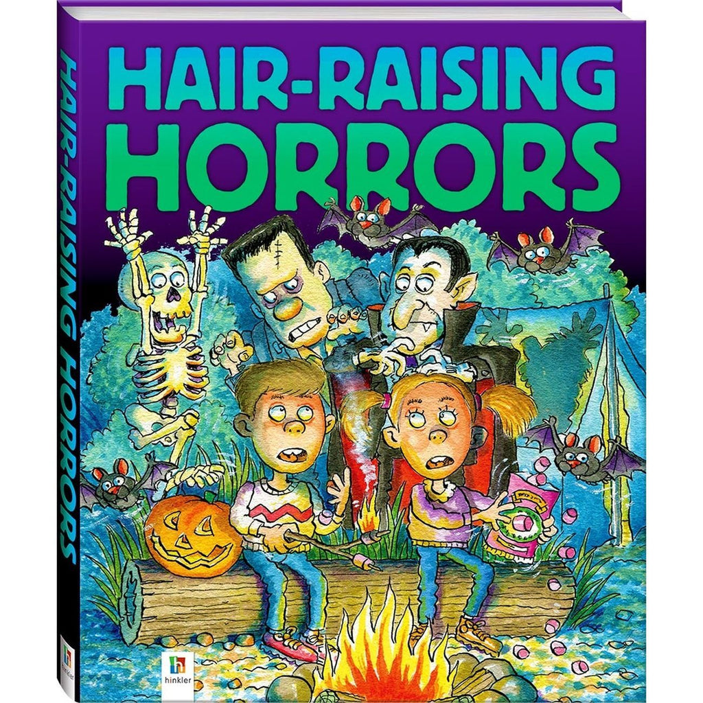 Hair Raising Horrors Book - Toyworld