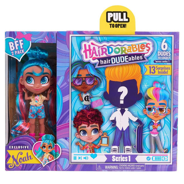 Hardorables Bff 2-Pack Assorted Styles - Toyworld