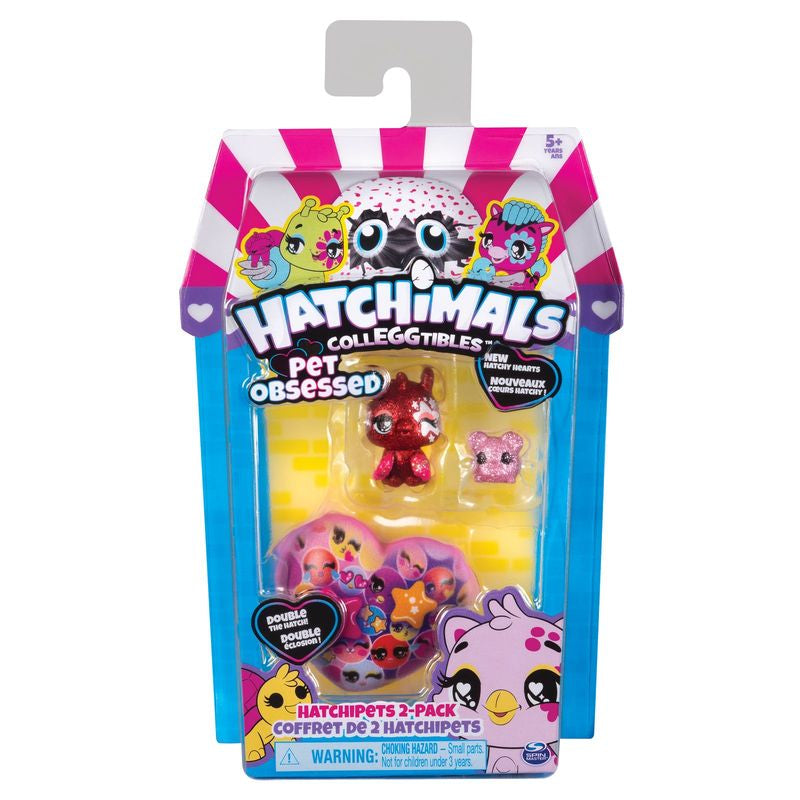 HATCHIMALS COLLEGGTIBLES SERIES 7 HATCHIPETS 2 PACK ASSORTED STYLES