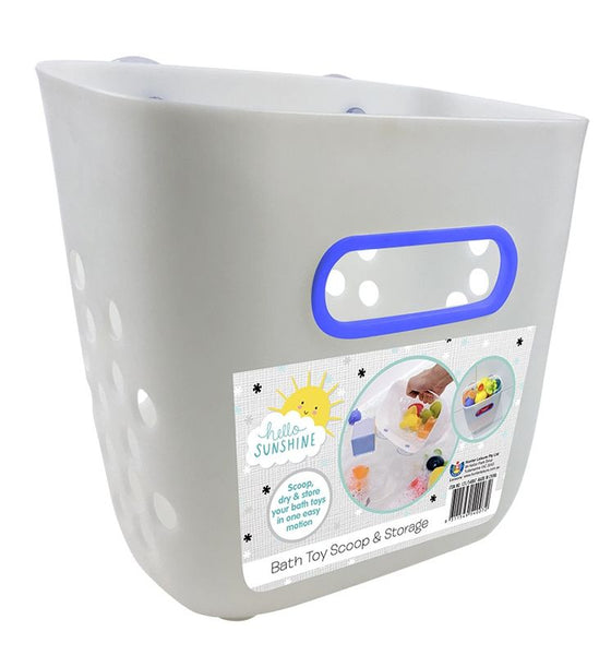 HELLO SUNSHINE BATH SCOOP WITH STICKERS