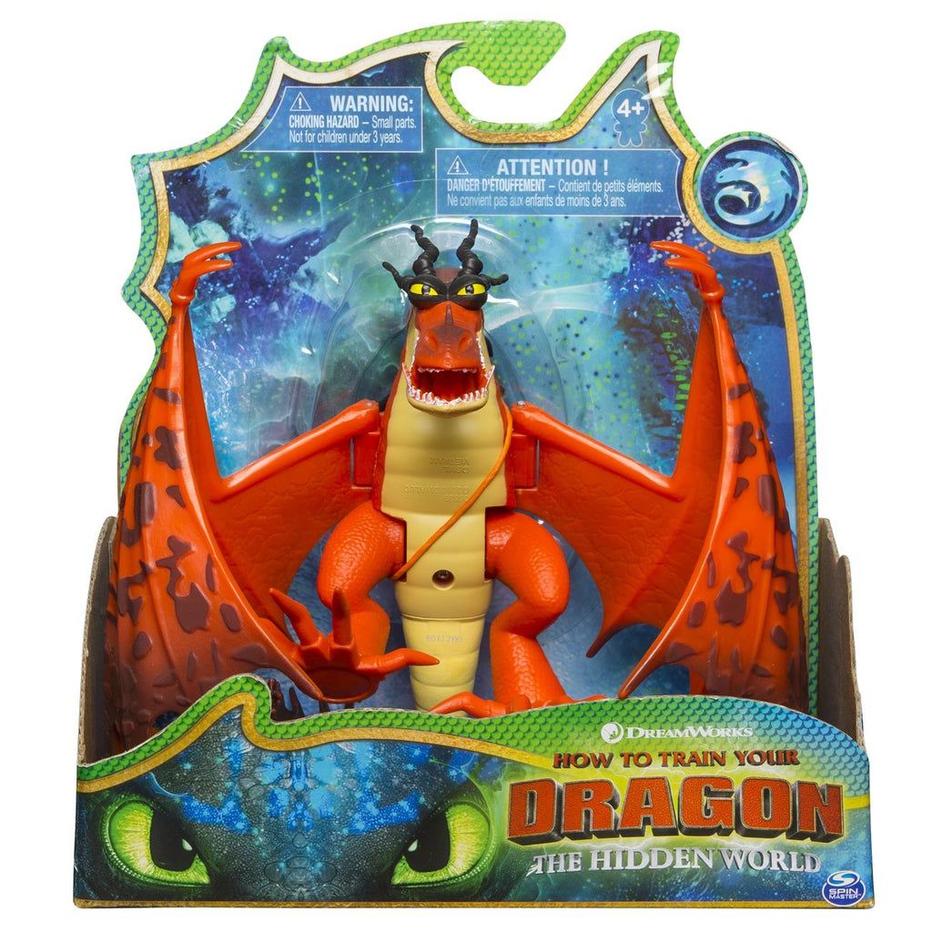 How To Train Your Dragon Basic Dragon Hookfang - Toyworld