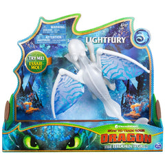 How To Train Your Dragon Deluxe Dragon Lightfury - Toyworld