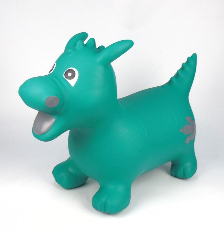 Happy Hopperz Green Dragon Large - Toyworld
