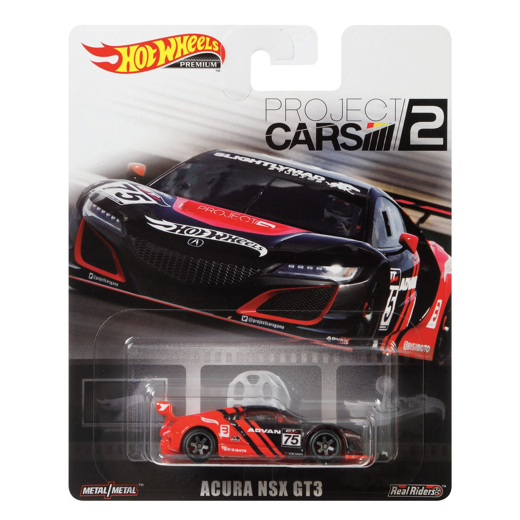 HOT WHEELS ACURA NSX GT3