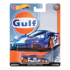 HOT WHEELS CAR CULTURE MCLAREN F1 GTR