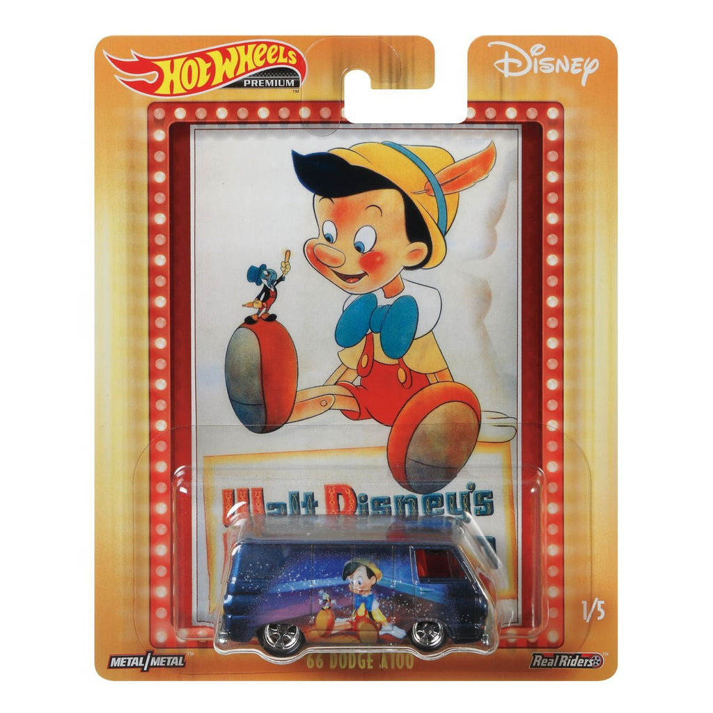 Hot Wheels Disney Collection 66 Dodge A100 - Toyworld