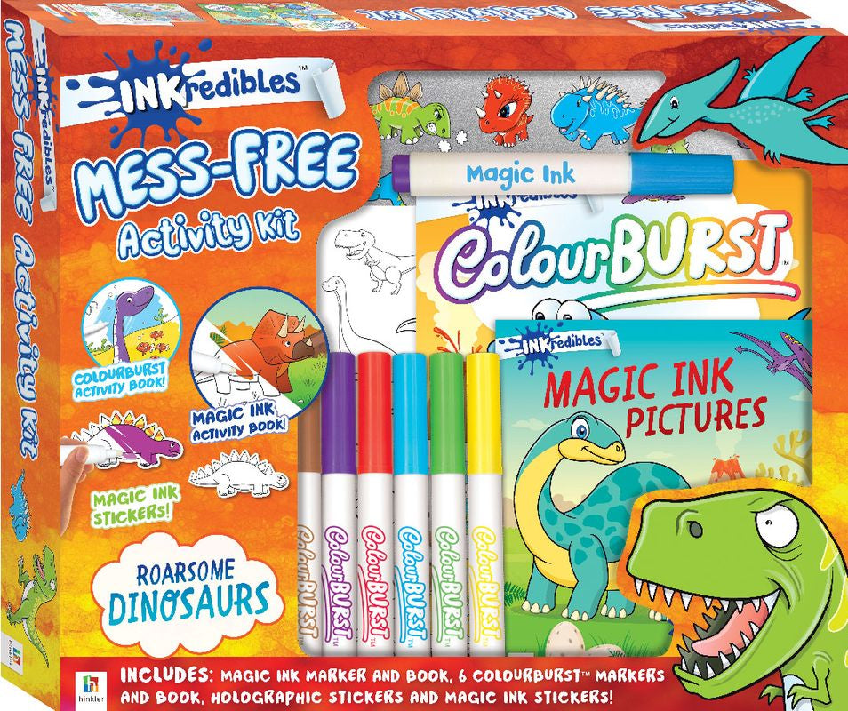 Inkredibles Activity Kit Dinosaurs - Toyworld