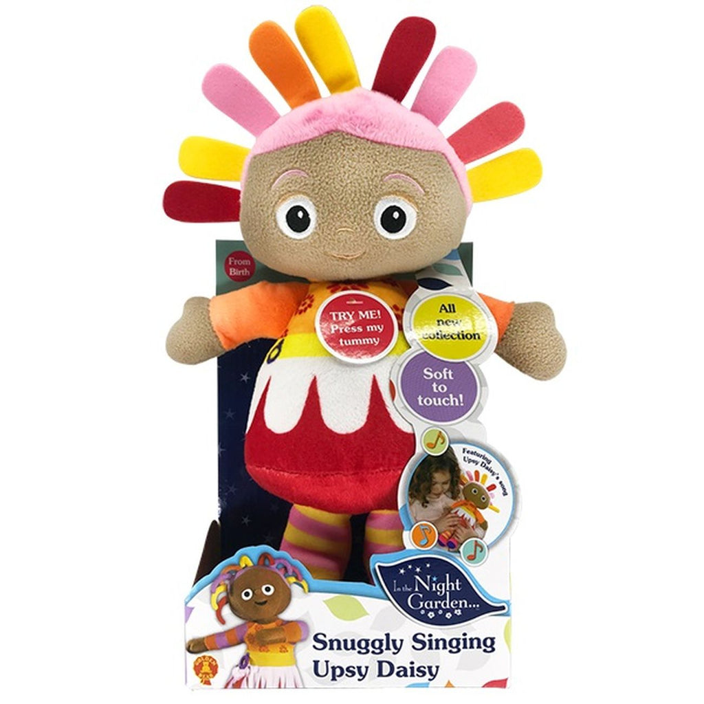 IN THE NIGHT GARDEN SNUGGLY SINGING UPSY DAISY