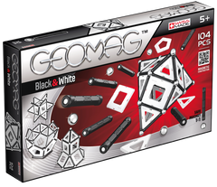 GEOMAG BLACK AND WHITE PANELS 104 PIECES
