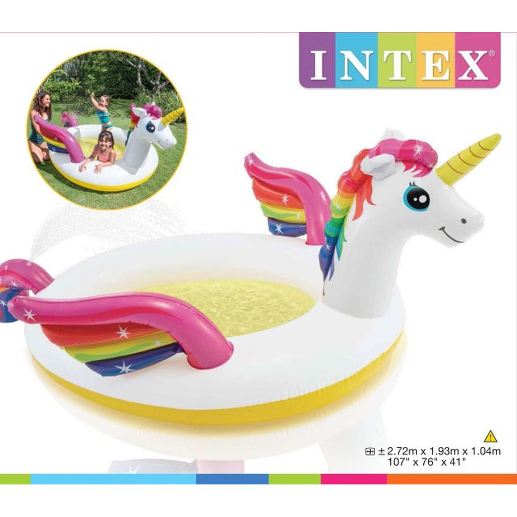 INTEX UNICORN SPRAY POOL