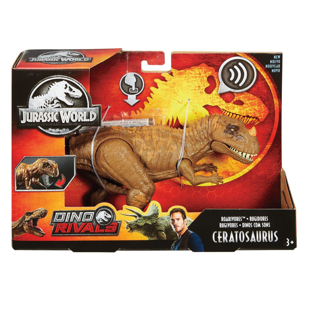 Jurassic World Roarivores Ceratosaurus 1 - Toyworld