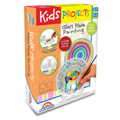 KIDS PROJECTS GLASS PLATE PAINTING - Toyworld