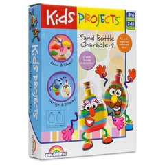 KIDS PROJECTS SAND BOTTLE CHARACTERS - Toyworld