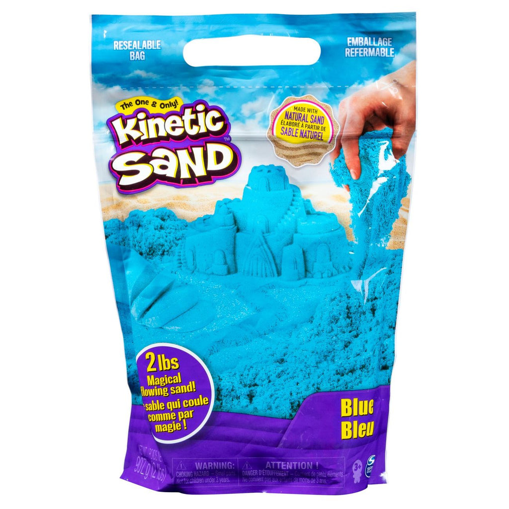 Kinetic Sand 2Lb Coloured Sand Blue - Toyworld