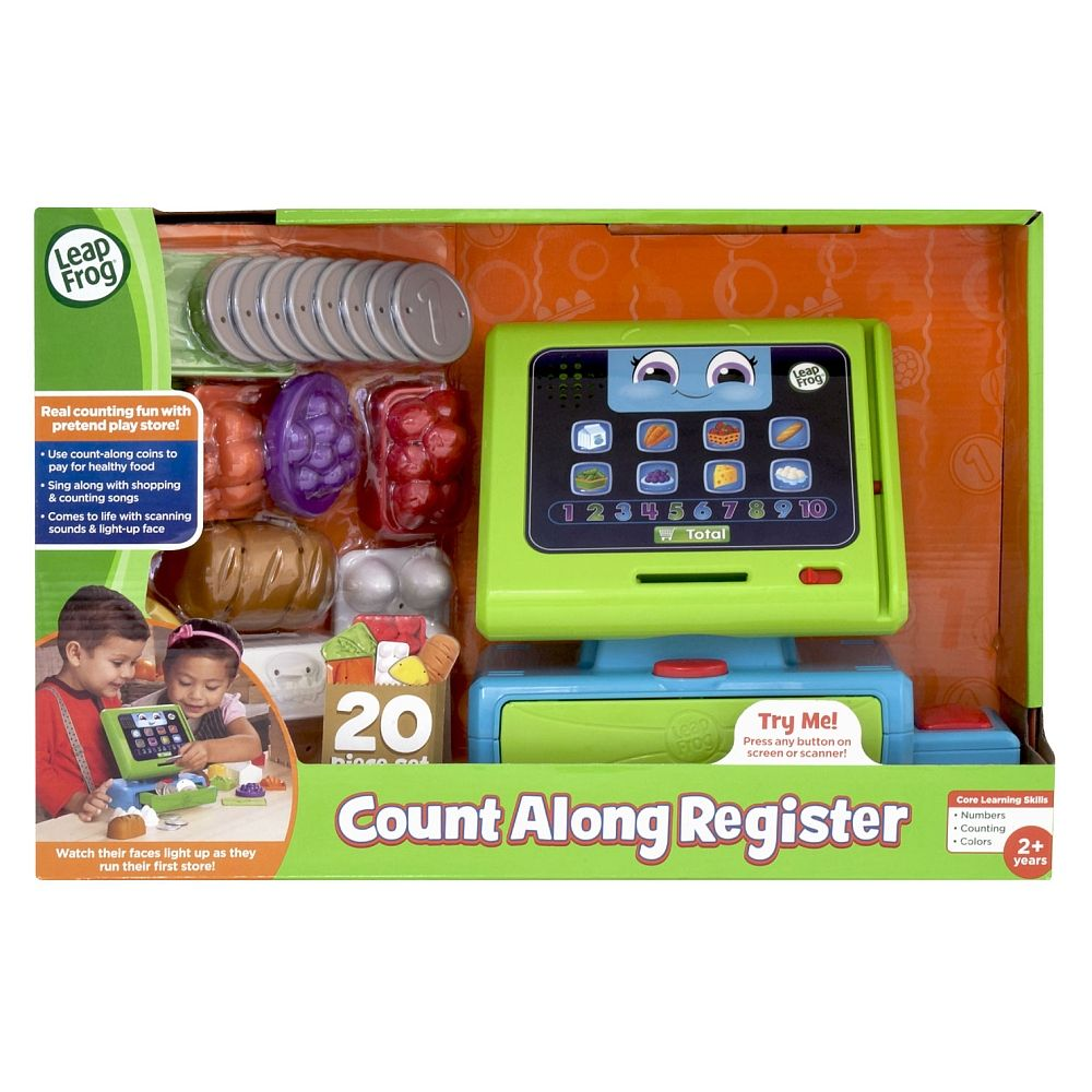 Leapfrog Count Along Till - Toyworld