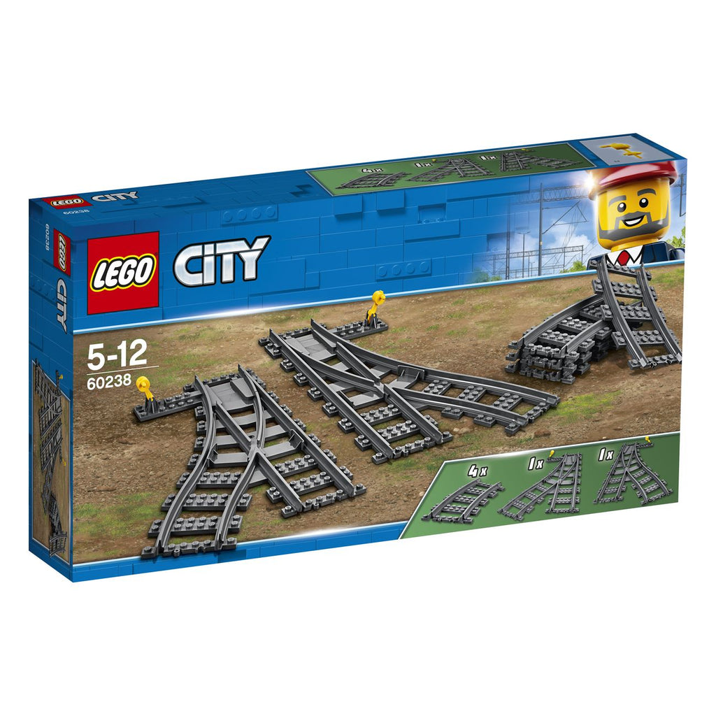 Lego City Switch Tracks 60238 - Toyworld