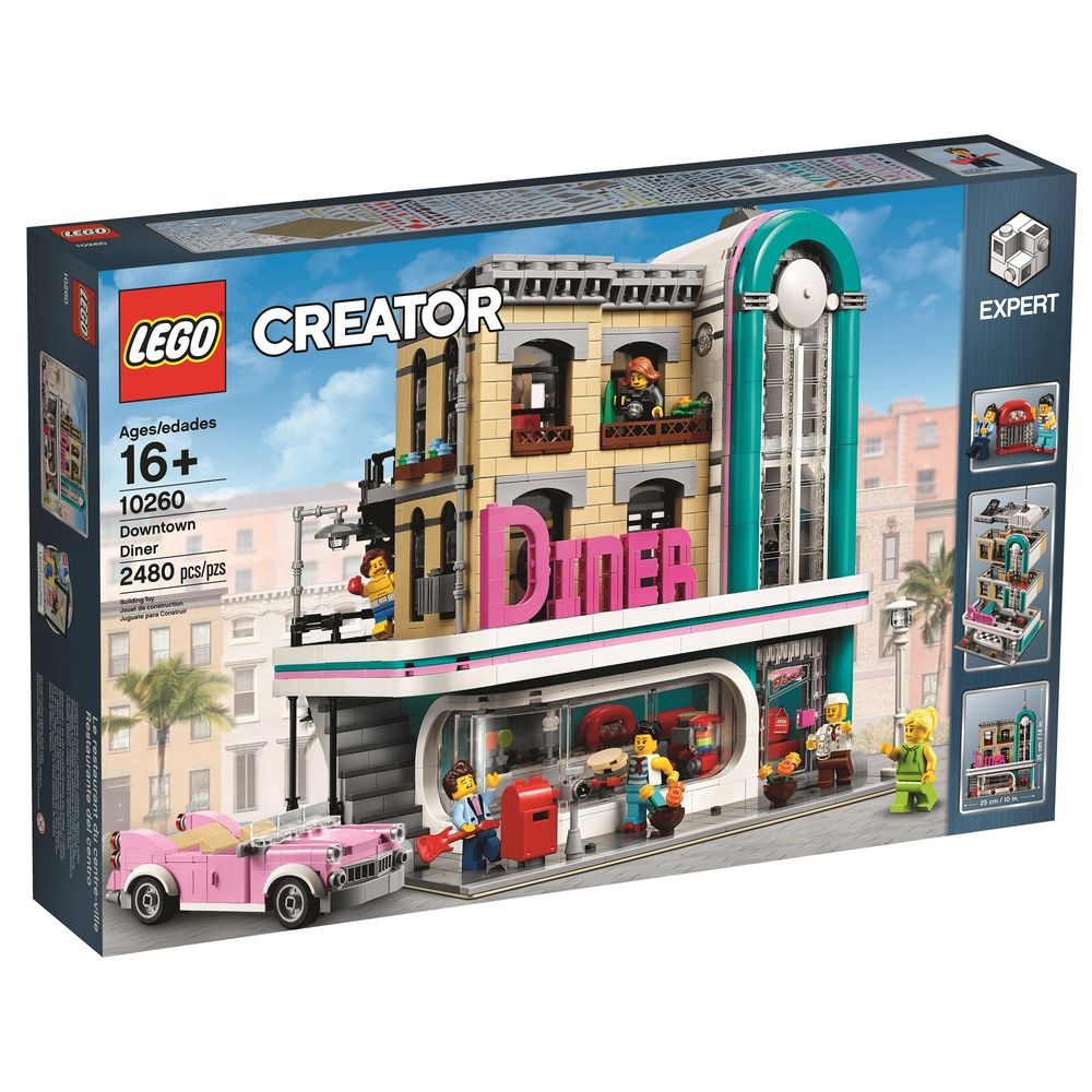 Lego Creator Downtown Diner 10260 - Toyworld
