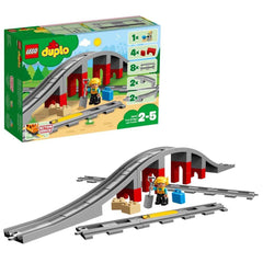LEGO 10872 DUPLO TRAIN BRIDGE AND TRACKS
