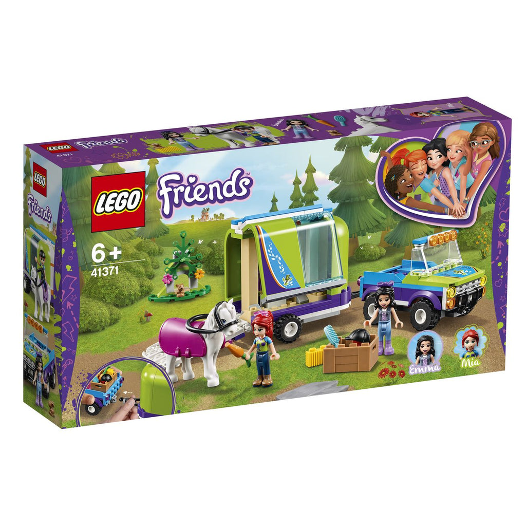 Lego Friends Mias Horse Trailer 41371 - Toyworld