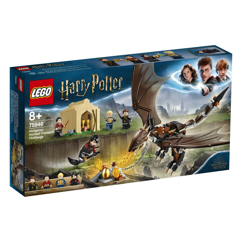 Lego Harry Potter Hungarian Horntail Triwizard Challenge 75946 - Toyworld