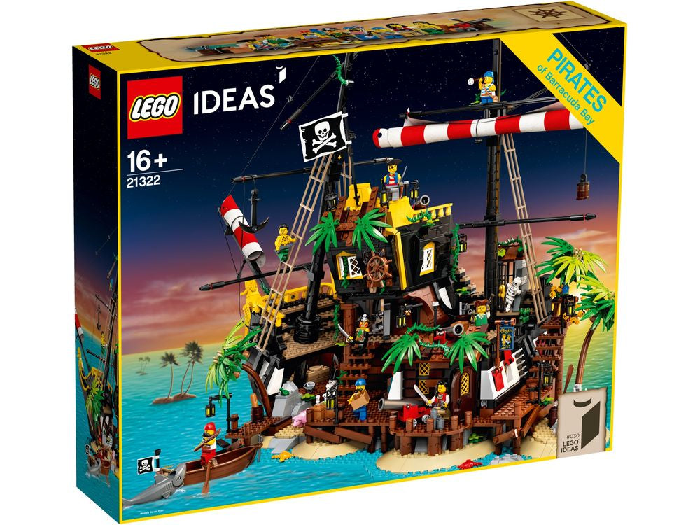 LEGO 21322 IDEAS PIRATES OF BARRACUDA BAY